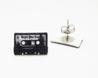 Boys Don't Cry Cassette Stud Earrings