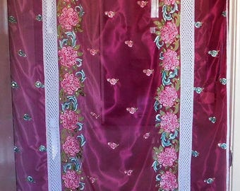 ROSE of INDIA  Bohemian Gypsy DOOR Curtain