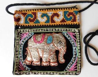 Little Boho Elephant Purse Passport Pouch