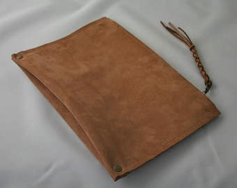 Tan Leather Pouch