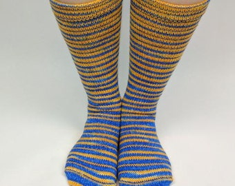 Brew Crew Gradient Stripes Matching Socks Set, 2-50g Cakes, Greatest of Ease (dyed to order)