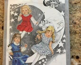 80s Cinderella Dress Pattern Girls 3