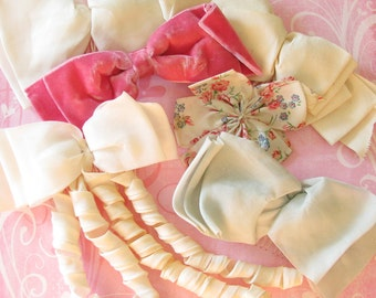 Her Darling...Lot of Wonderful Vintage Hair Bows