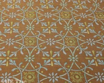 Godwin Victoria & Albert Museum, London for Rowan. Westminster Fibers. Ironwork  - 1 Yard - Cotton Fabric / Fabric by Yard / New Fabric