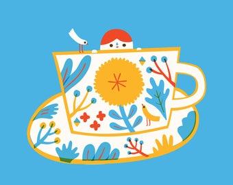 Teatime Print