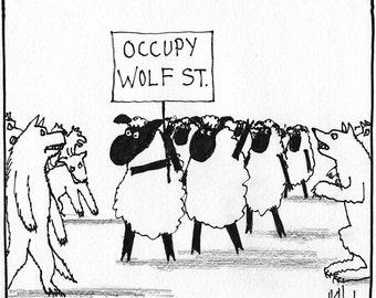 Occupy Wolf Street CARTOON