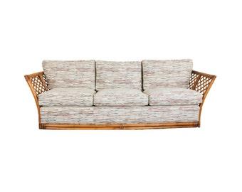 MOVING SALE - Rattan Sofa