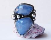 Custom Order Balance - Reserved- Blue lakes Ring