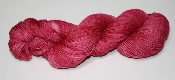 Crabapple Hand Dyed Sock Yarn