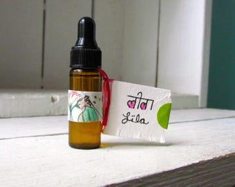 LILA-Original oil blend-1 dram bottle-a woman's blend-oil blend, perfume