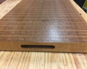 Quarter-Sawn White Oak End Grain Chopping Block