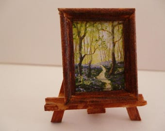 One 48th Scale prints (They are Tiny Wee!!)Bluebell time,England