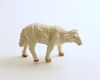 Vintage Lamb Sheep Figurine Nativity Christmas Village