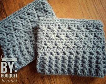 PDF Crochet Pattern -CRISS-CROSS Boot Cuffs Crochet Pattern