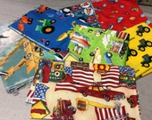 Novelty Fabric with Vehicles