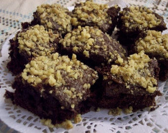 Ooey Gooey Fudge Brownies with Free Shipping