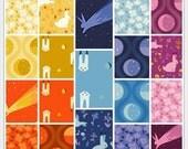 ON SALE Luna Sol by Felice Regina for Windham Complete 19 Piece Bundle