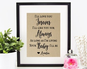 Wedding Gift For Couple Living With Parents : ... Living Your Baby Ill Be Wedding Gift for Parents of the Bride
