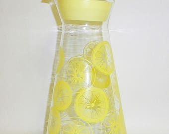 Vintage Glass Pyrex Juice Pitcher Carafe