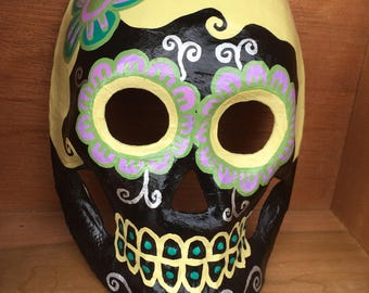Dia de los Muertos Skull Mask / Day of the Dead / Halloween