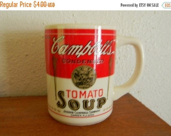 Holiday Sale Vintage Cambpell's Tomato Soup Mug