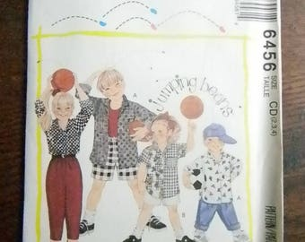 Vintage McCall's Jumping Beans Kids Wardrobe Pattern #6456 Uncut