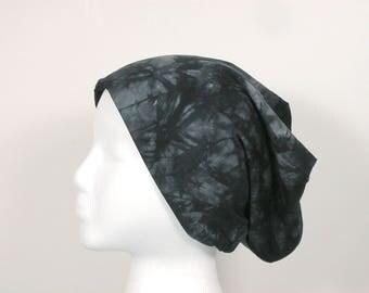 FREE SHIPPINGTie Dye Beanie Men's Beanies Women's Beanies Unisex Beanies Bamboo Chemo Caps Hats for Hair Loss Skullcap  Do Rag Rocker Slouch