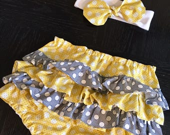 Bloomers with Matching Headband