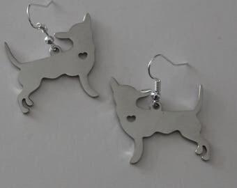CHIHUAHUA DOG Earrings - Pet