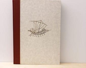 Argonautica. Vintage 1960s book with Tassos illustrations. Ancient Greek literature.