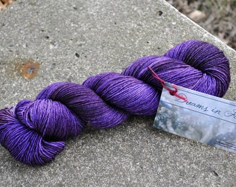 LIMITED EDITION BASE - Sportweight 8 ply - Royalty Colorway