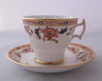 Vintage Phoenix China Tea Cup and Saucer - Thomas Forster and Sons -  Imari Style Vintage Bone China Made in England - Pattern FTH21