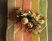 Velvet Ribbon Boho Wedding Bouquet Wrap - 5 Yards Hat Making Headband Millinery Trim - Doll Clothes Trim - Velvet Choker Jewelry Ribbon