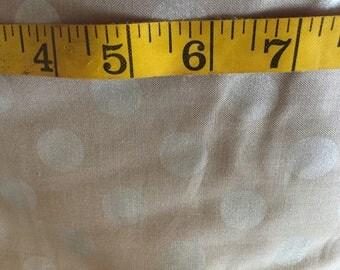 One Yard of Polka Dot Fabric