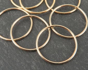 Gold Filled Stacking Ring 19mm ~ Size N/7/55 (CG9264)