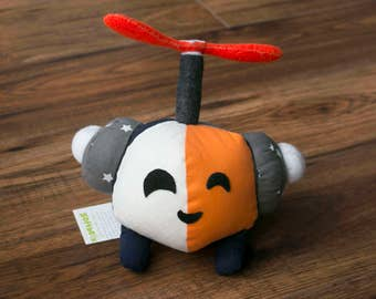 Orange Viv - Wee Plush Robot
