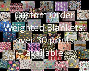 Custom Order Weighted Blankets for Sensory Calming