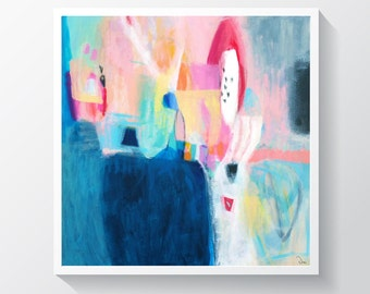 Wall art, abstract painting print nº 42, acrylic print, Fine art, abstract art print, giclee print