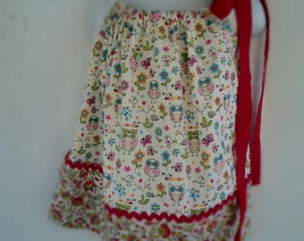 Owl and Flower Pillowcase Dress