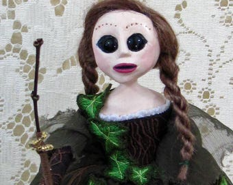 Mother of the Ivy - Fairy Fae Art Doll by Natasha Morgan
