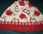 Crochet Kitchen Hanging Towel Kay Dee Design Apples, Tan crochet top