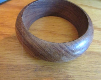 maple wood bangle