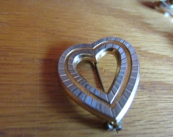 diamond etched heart