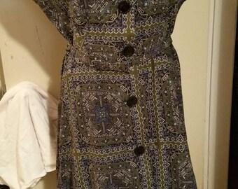 1950s Sandra Lee brand Dress.