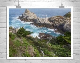 Carmel by the Sea, Point Lobos Photograph, Big Sur Art, California Art, Monterey Peninsula, Art Photography, California Coast, Seascape Art
