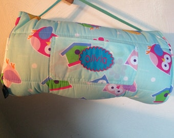 Girls  Nap Mat School Daycare Preschool Kindergarten Toddler Free Personalized