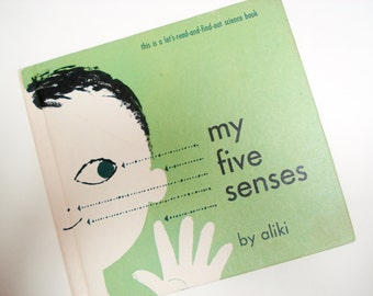 My Five Senses - 1962 - hardback children's book