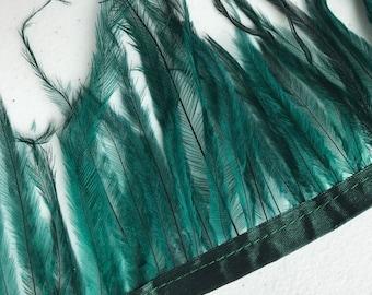 EMU  FEATHERS , Hunter Green   /  687.A
