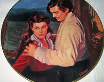 Gone with the Wind Dangerous Attractions Collector Plate from Bradford Exchange