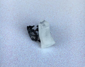 Quartz Adjustable Ring